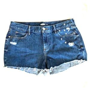 Old Navy - Denim Boyfriend Shorts